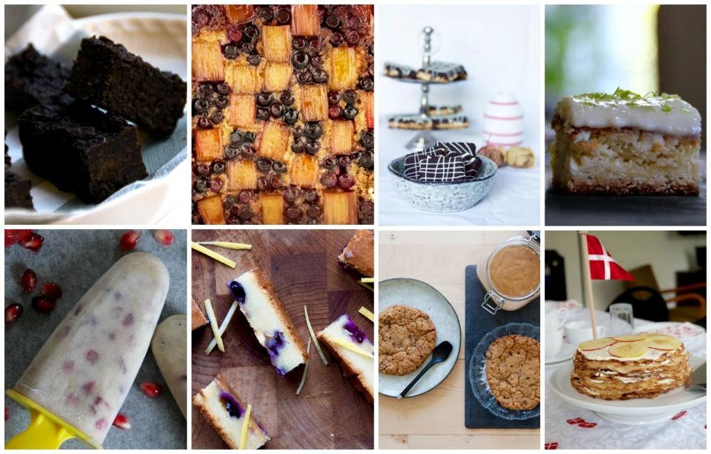Collage_kage og søde sager