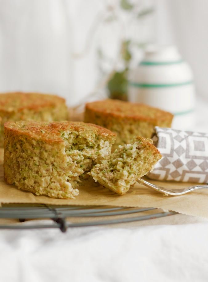 Billede af Grønne søde muffins