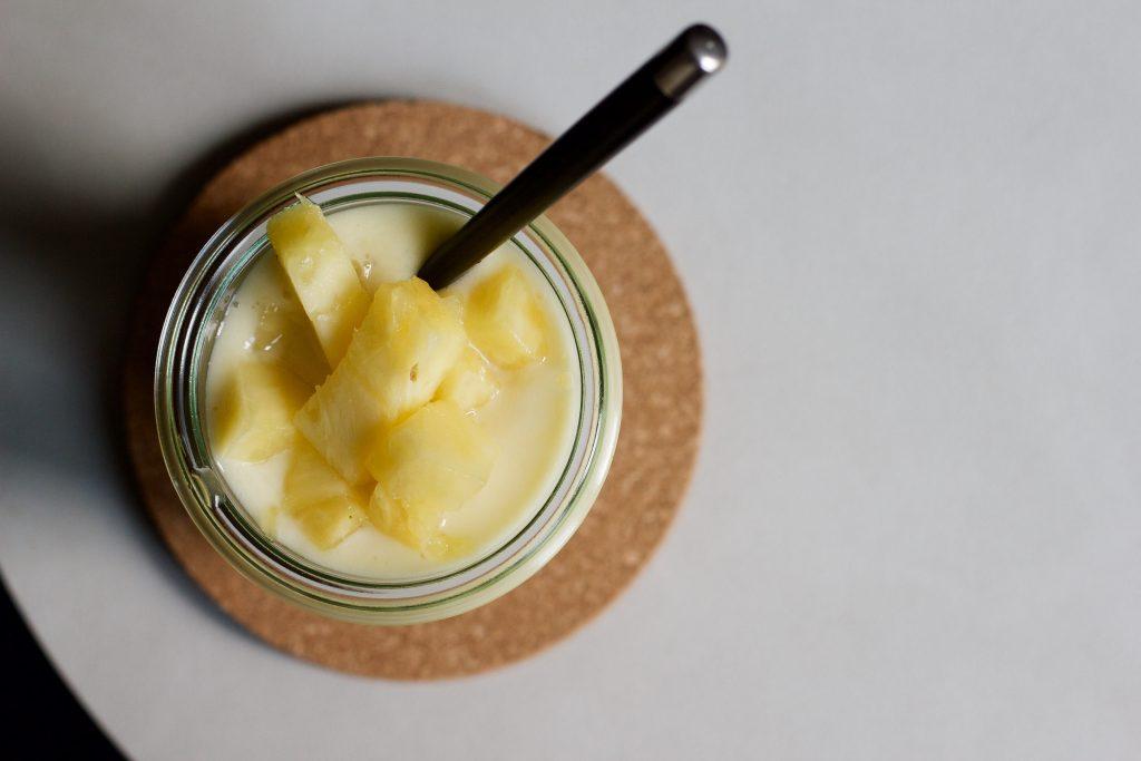 Billede af ananassmoothie