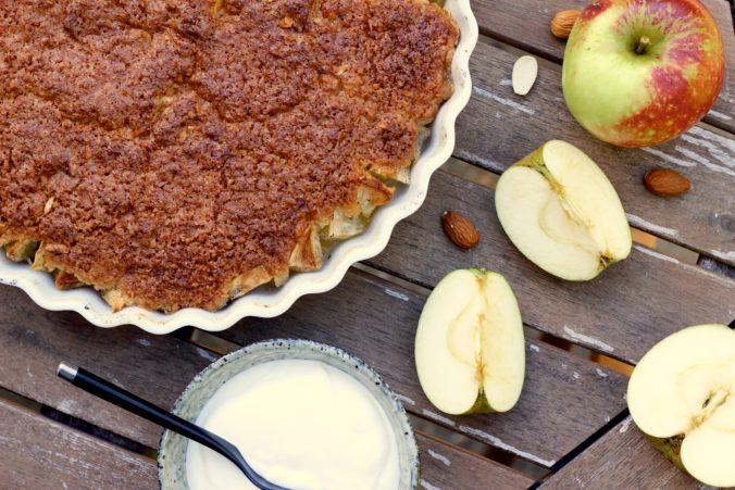 Billede af Æblekage