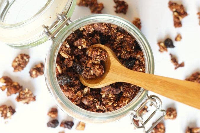 Billede af Granola med kakao