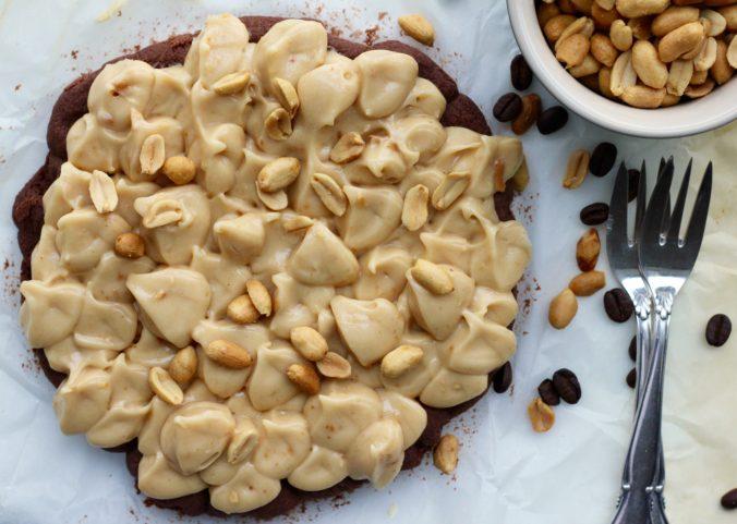 Billede af Kaffekage med peanutbutter-creme