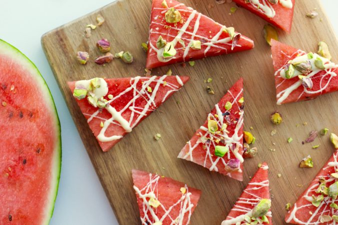 Billede af Vandmelonsnack med pistacie