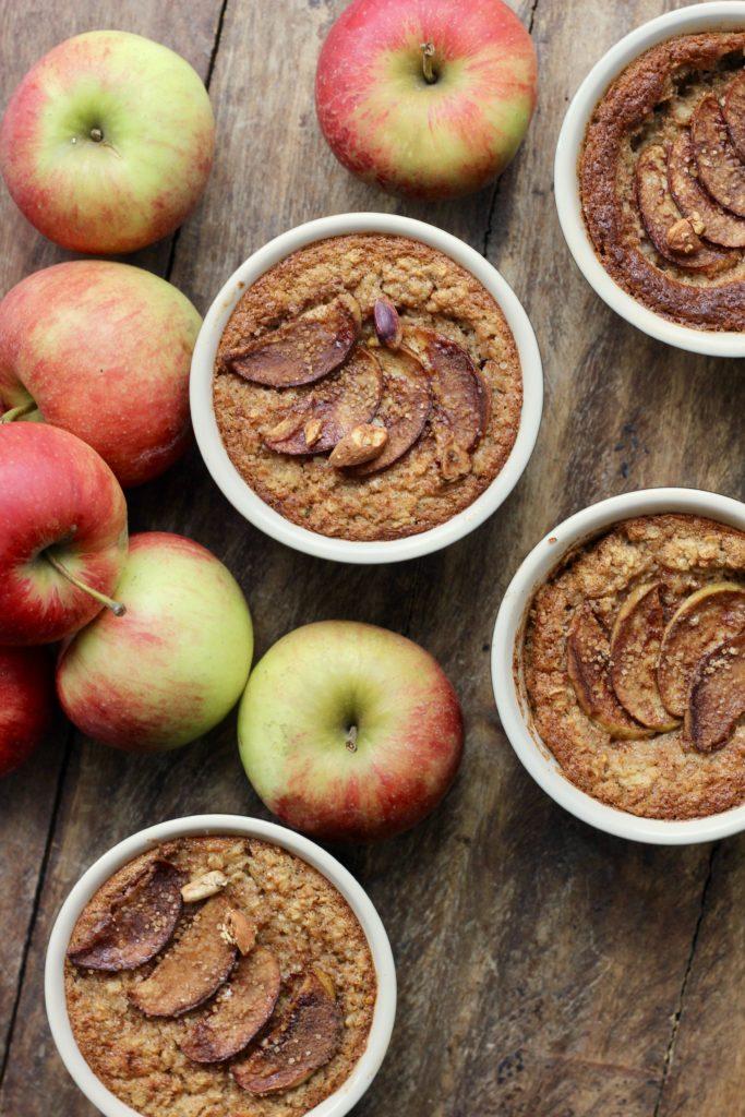 Billede af Ovnbagt grød med sæsonens æbler