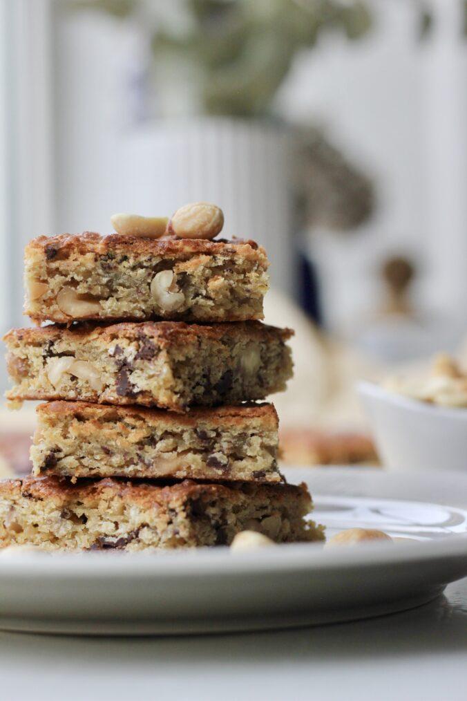 Billede af Kage med kikærter, chokolade og peanuts