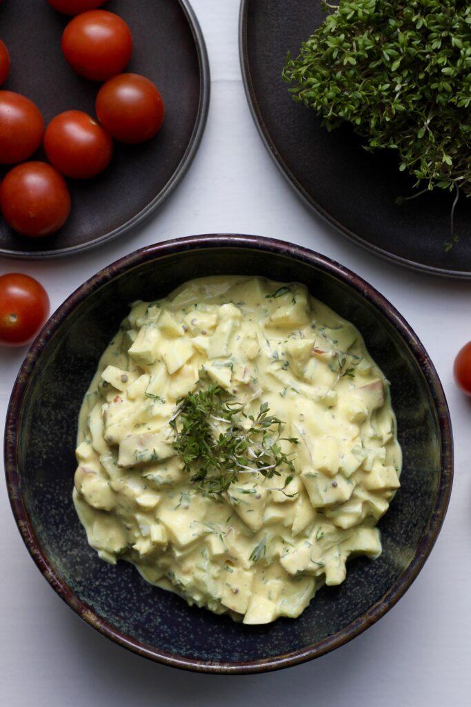 Billede af æggesalat
