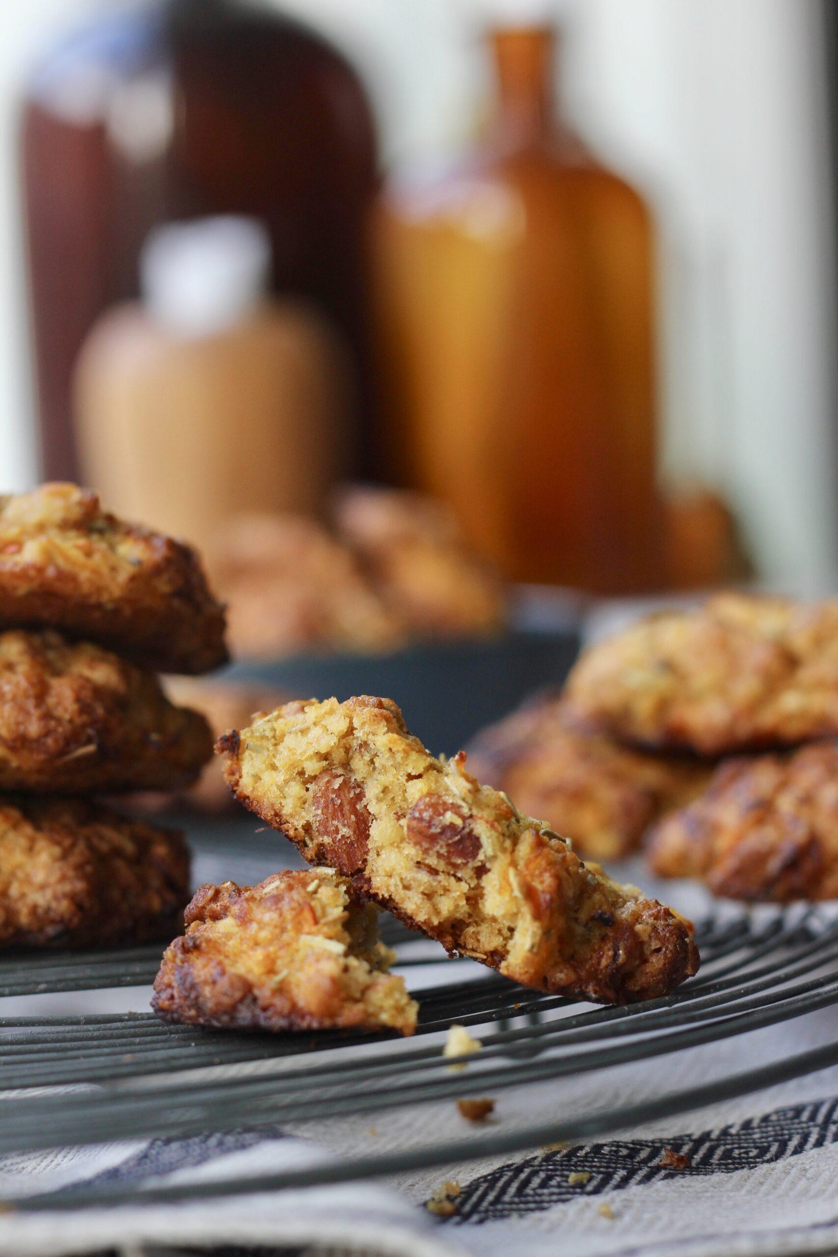 Billede af bløde græskarcookies
