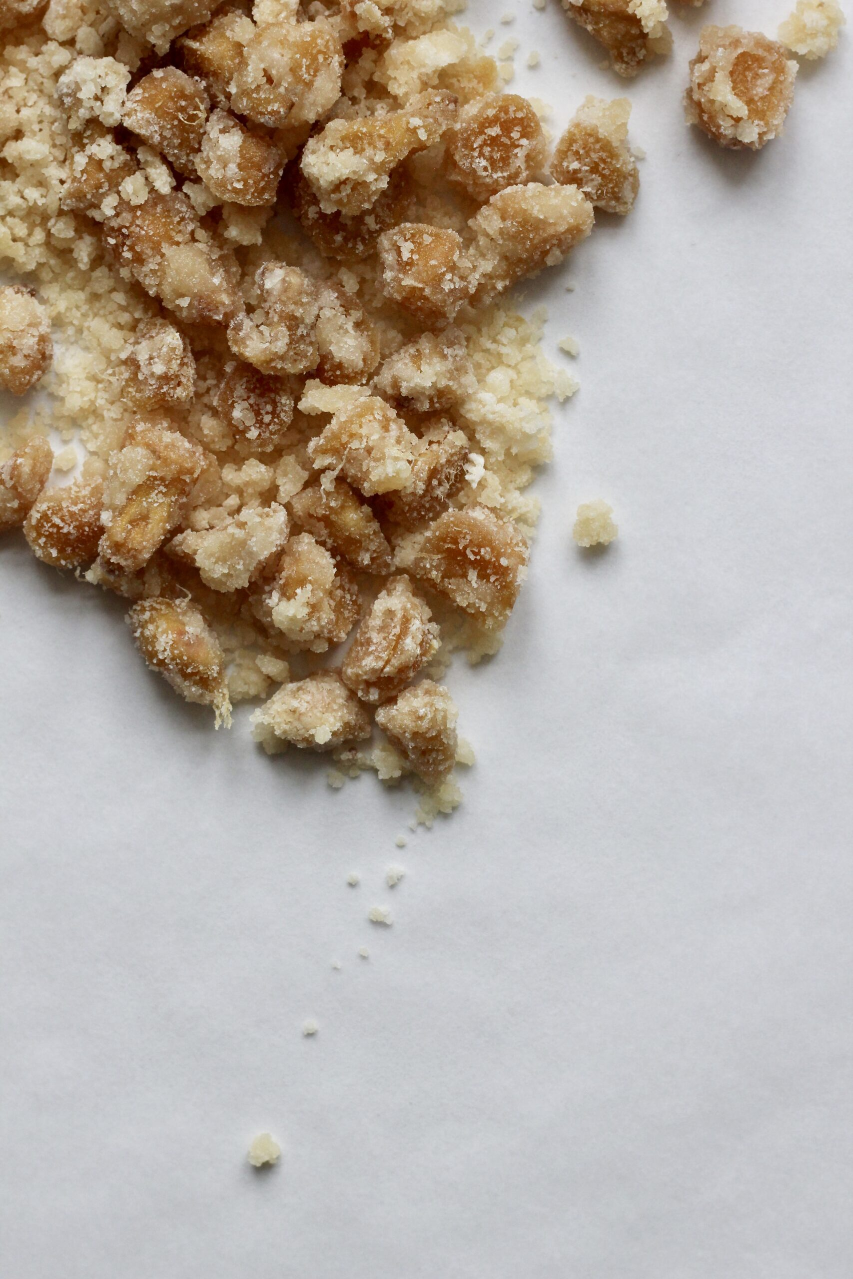 Billede af kandiseret ingefær